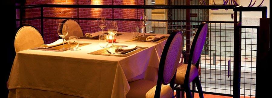 cena romantica pareja