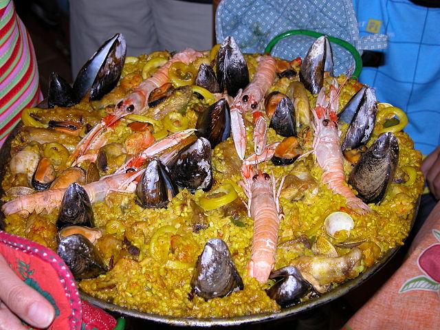 paella mixa
